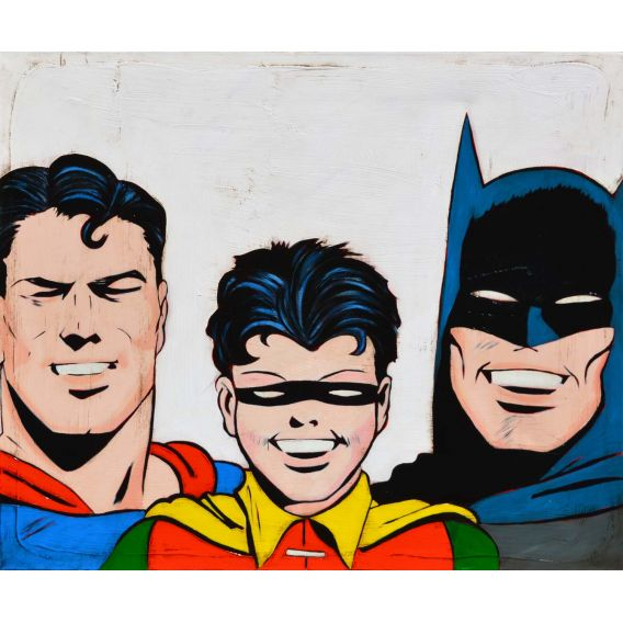 Batman, Robin et Superman - Comics