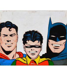 Batman, Robin et Superman - Comics