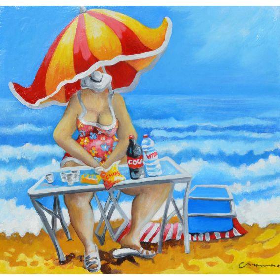Pique-nique au Lavandou - Scénette de l'été