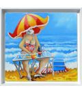 Picnic in Lavandou - Summer short scene (framed)
