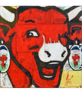 Wink of the laughing cow