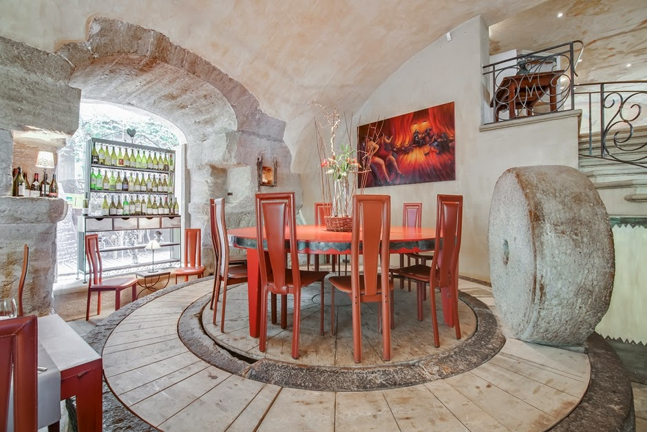 Le restaurant du moulin de Lourmarin - l'ancien moulin