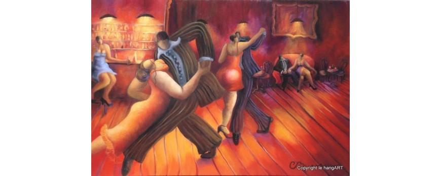 Nouvelle collection - Le dancing - Aventures des toiles